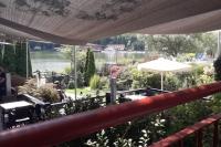 Терраса ресторана гостиницы